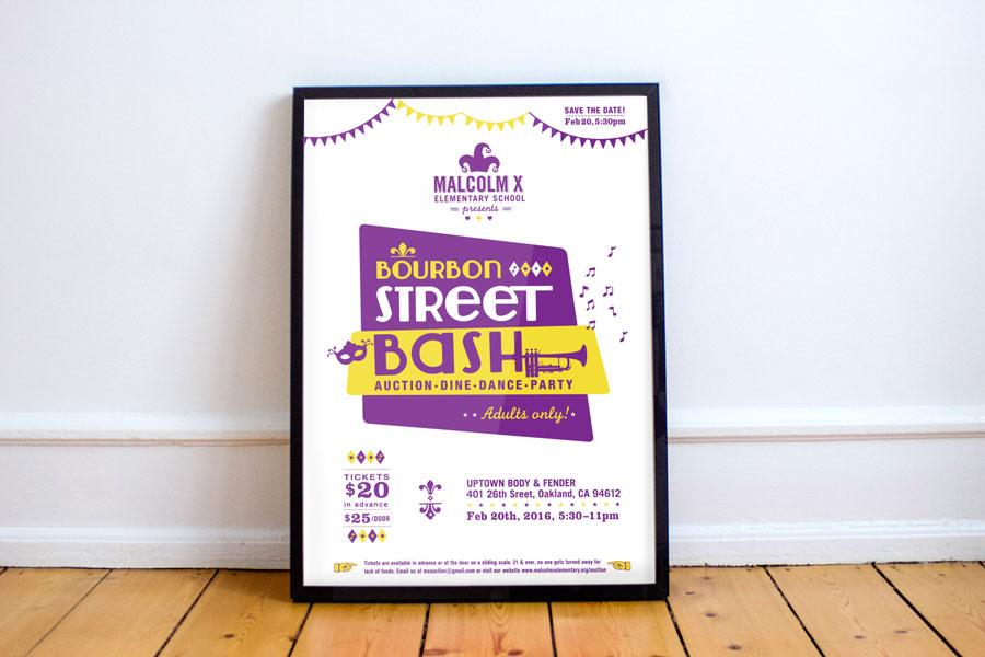 School Fundraiser Poster