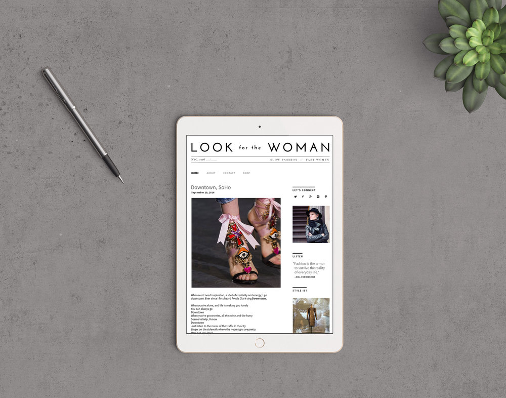 Fashion Blog Design