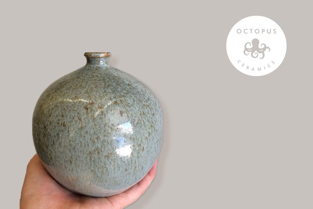 Octopus Ceramics Vase