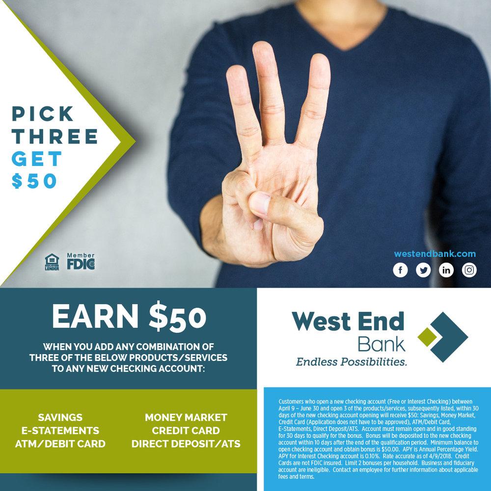 Ad Campaign: Pick 3