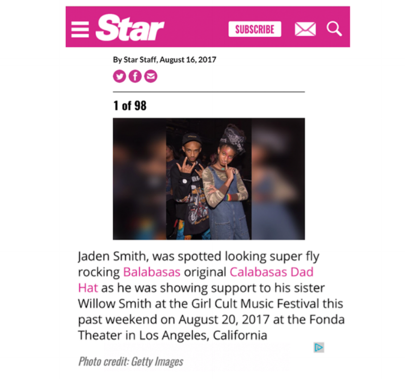 "Star Magazine - ""Star Shots"""
