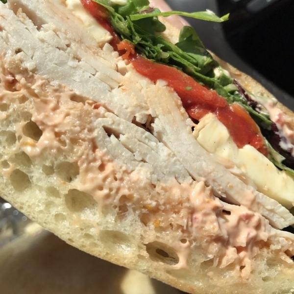 Roasted Turkey Breast Sandwich