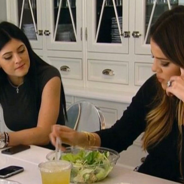 Kylie and Khloe on Keeping Up With the Kardashians