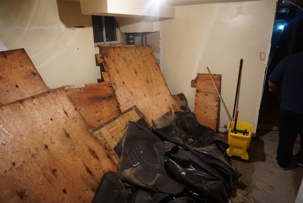 Demolition. Boom.