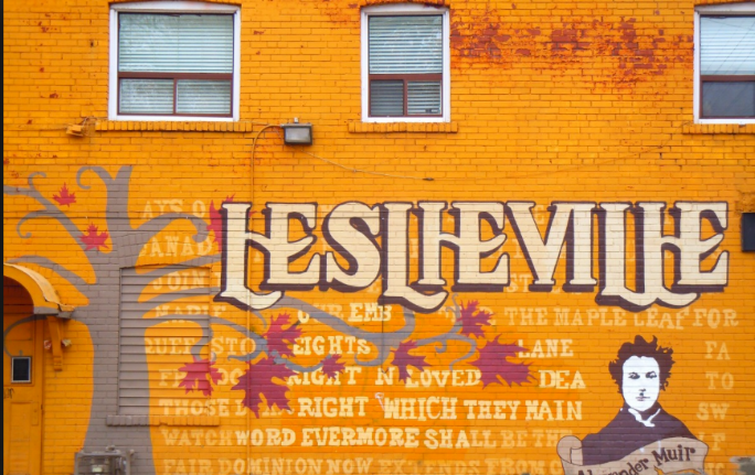 Leslieville - A peaceful neighbourhood east of downtown with quaint shops and cozy cafes at your doorsteps. If you're a hipster, you know that this is the place to be!