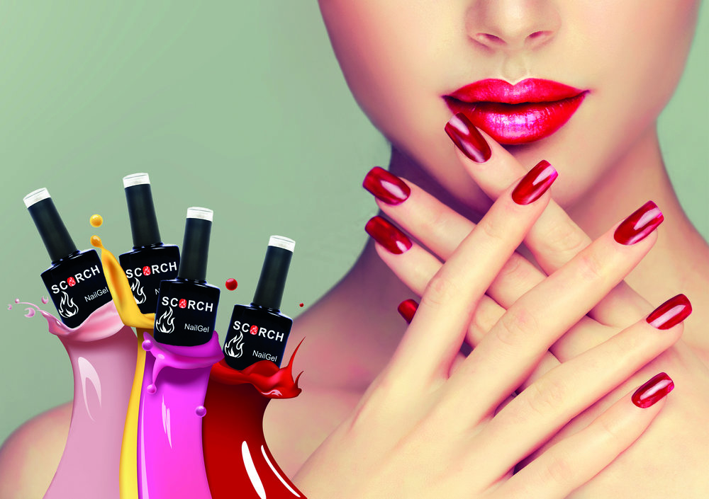 innovation in beauty - Nail Gel – 14 Day ManicureUV/LED Lamps – Dual Cure Technology®SupAcrylic – Re-inventing Acrylic and Hard Gel nailsLiquids – From application to removalAccessories – Everything you need for the perfect Scorch Manicure
