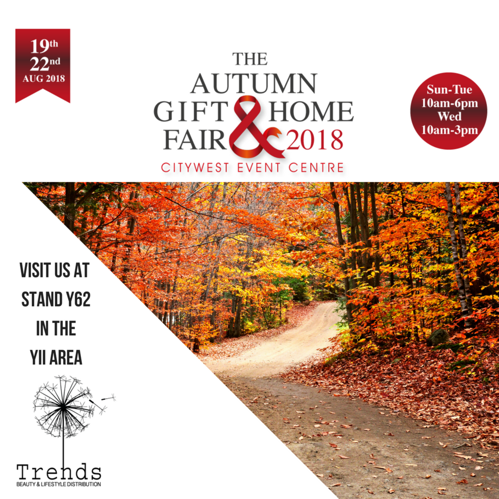 trends beauty distribution at the autumn gift & home fair 2018
