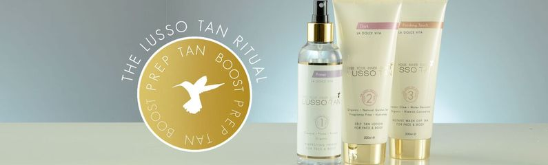 lusso tan, trends beauty & lifestyle distribition