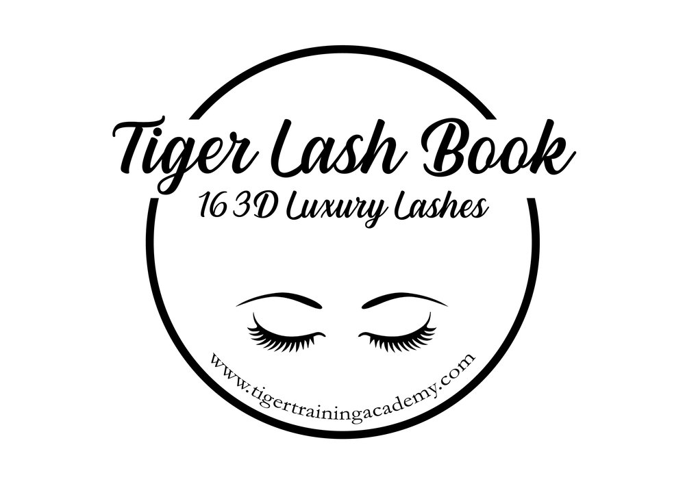 tiger lash book, Tiger training academy , trends beauty & lifestyle distriubiton