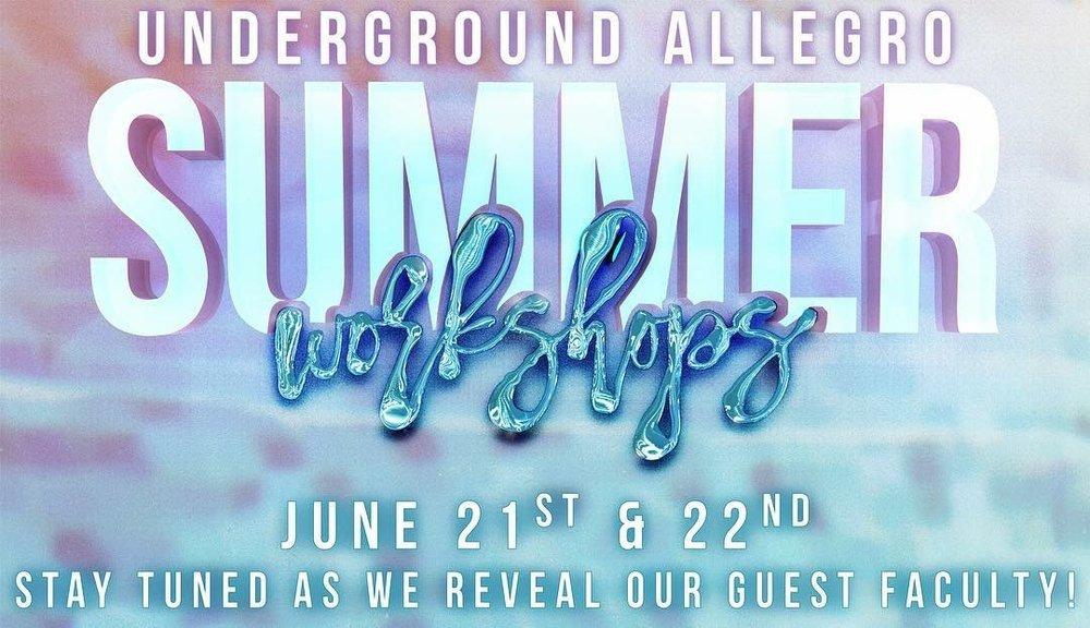 UADC Summer Workshops