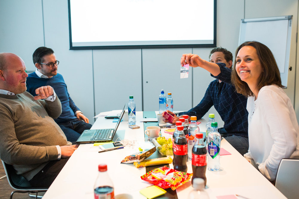 We got to know Rema 1000 well in the creative workshop with their sales team.