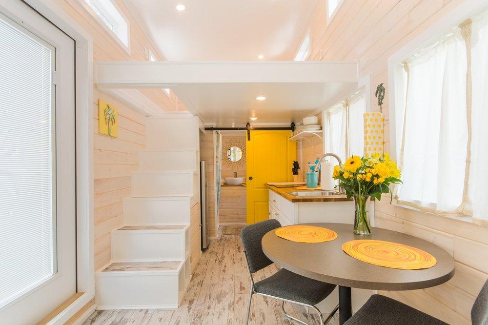 Siesta Beach Tiny Home Rental Lifeguard Tiny House
