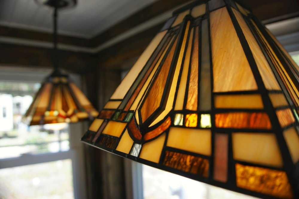 Tiny home small Tiffany style pendant lighting product
