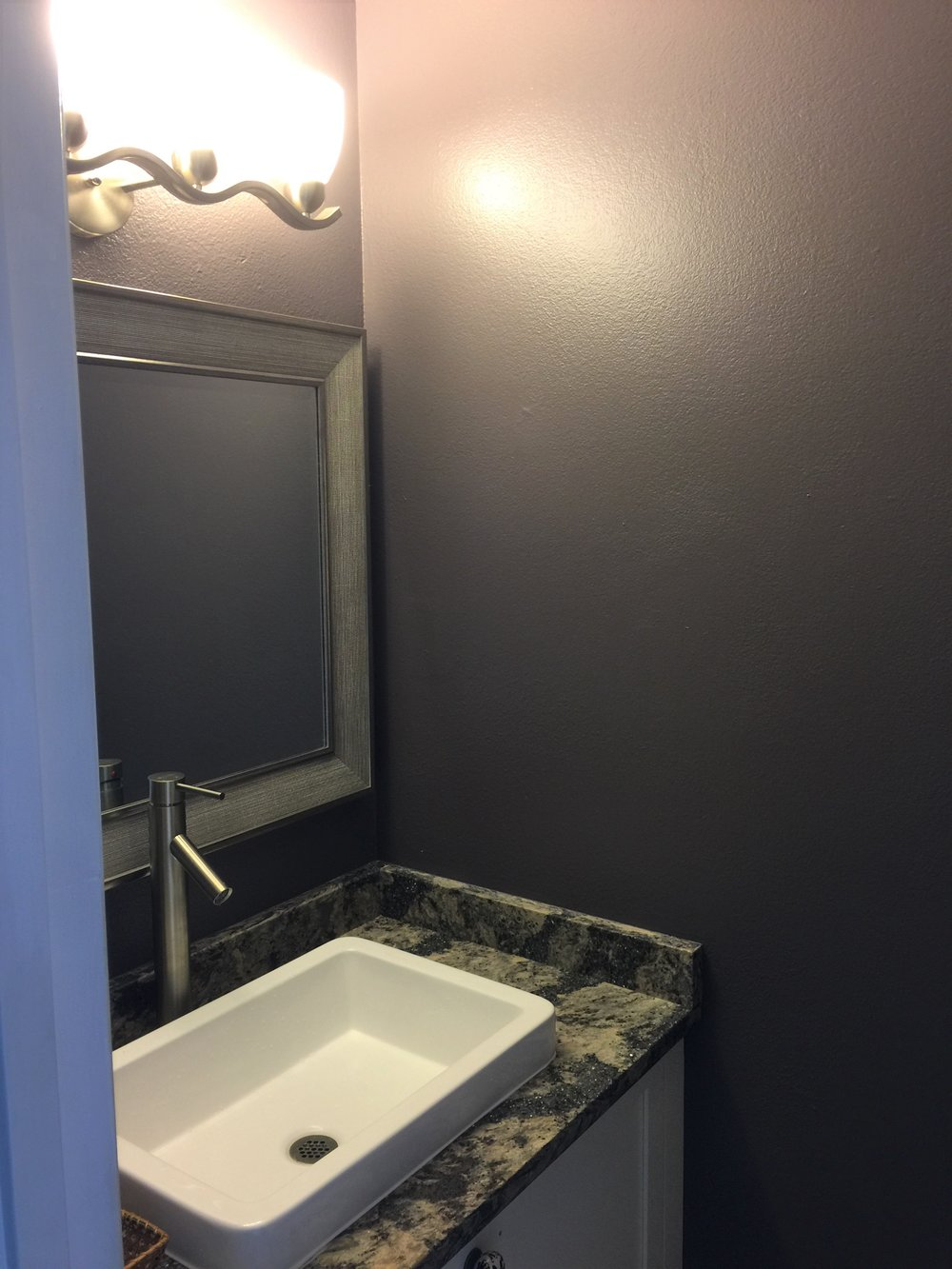 Paint Guest Bathroom