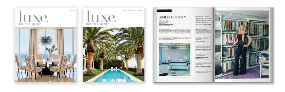 Luxe magazine - Ashley Huffman Interview