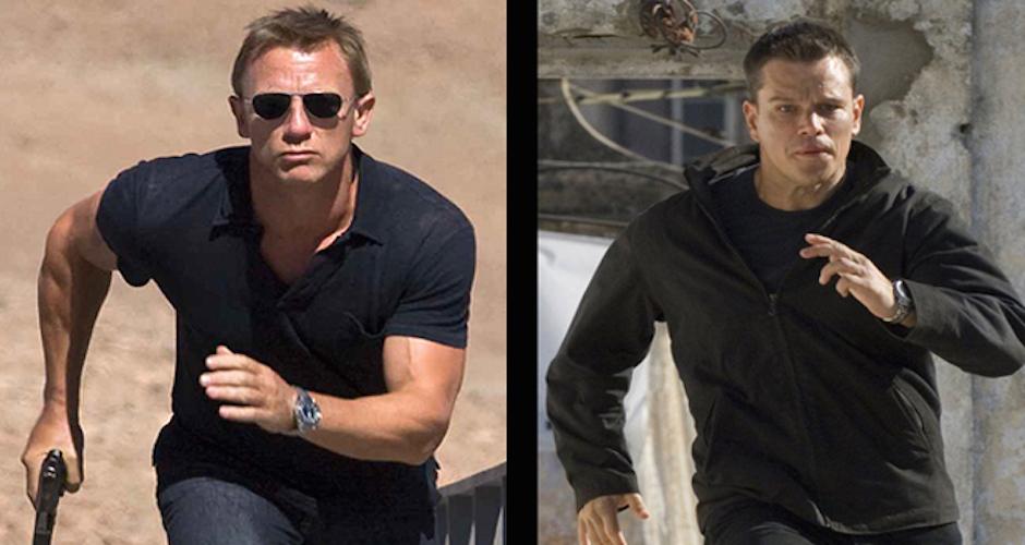 james bond vs jason Bourne