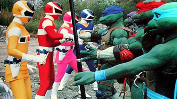 power rangers, ninja turtles