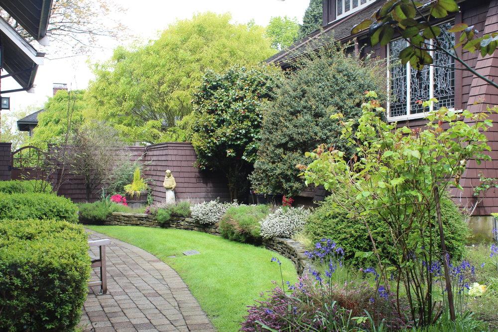 An image of our memorial garden.