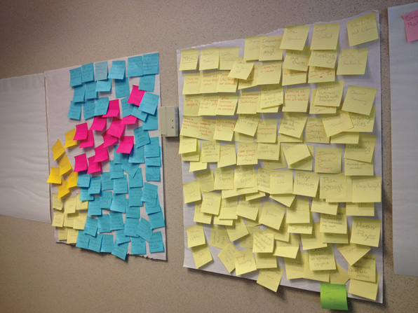 Peace Corps Affinity Wall