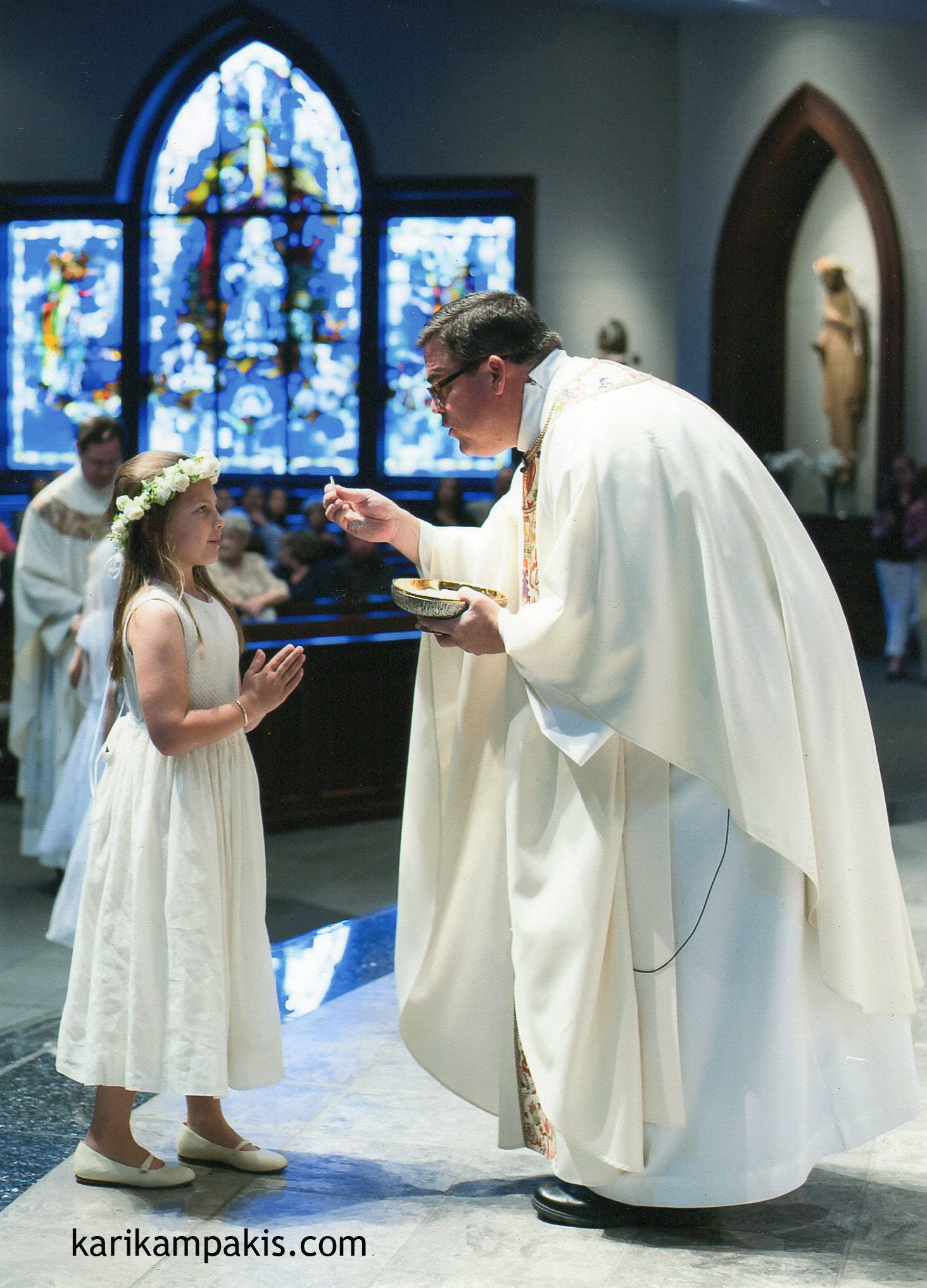 sophie first communion - Jeannie