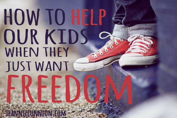 How to Help Our Kids When They Just Want Freedom - Landscape