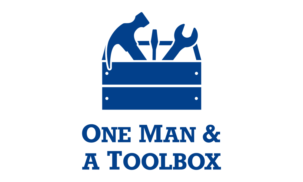One Man and A Toolbox Logo Emily VanderMey