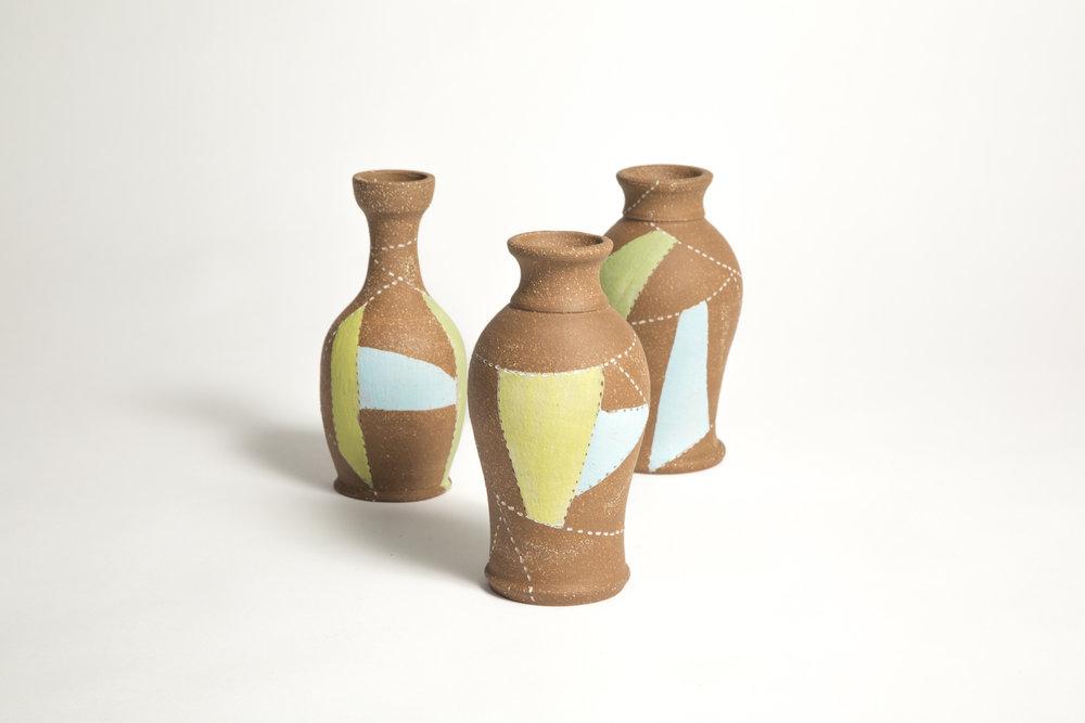 Patchwork Bud Vase Emily VanderMey