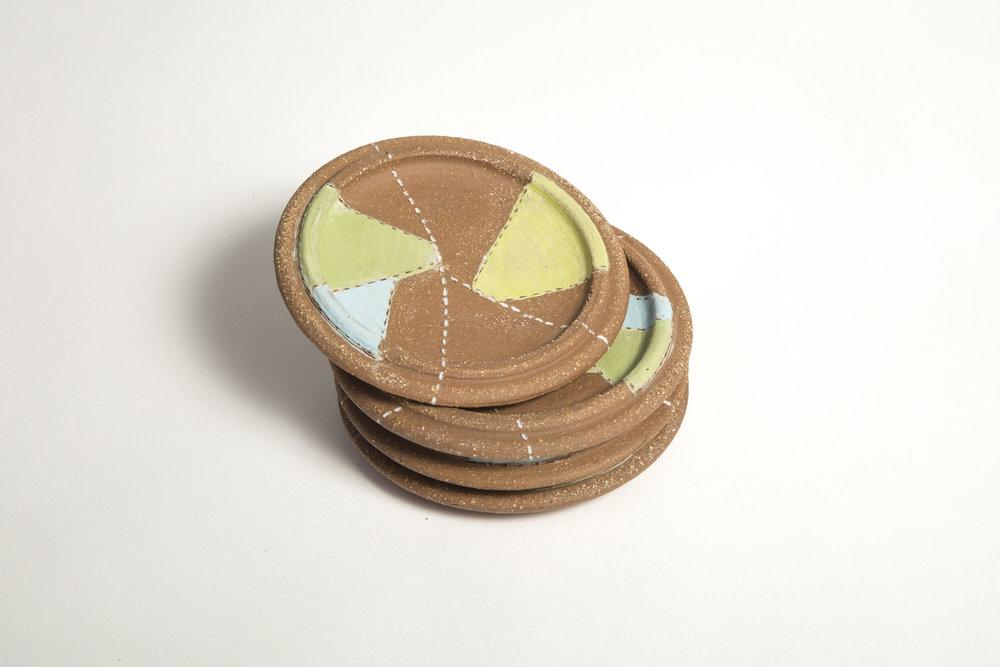 Patchwork coasters Emily VanderMey