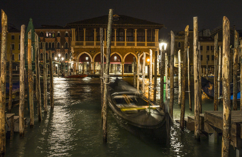 Gondola at Night