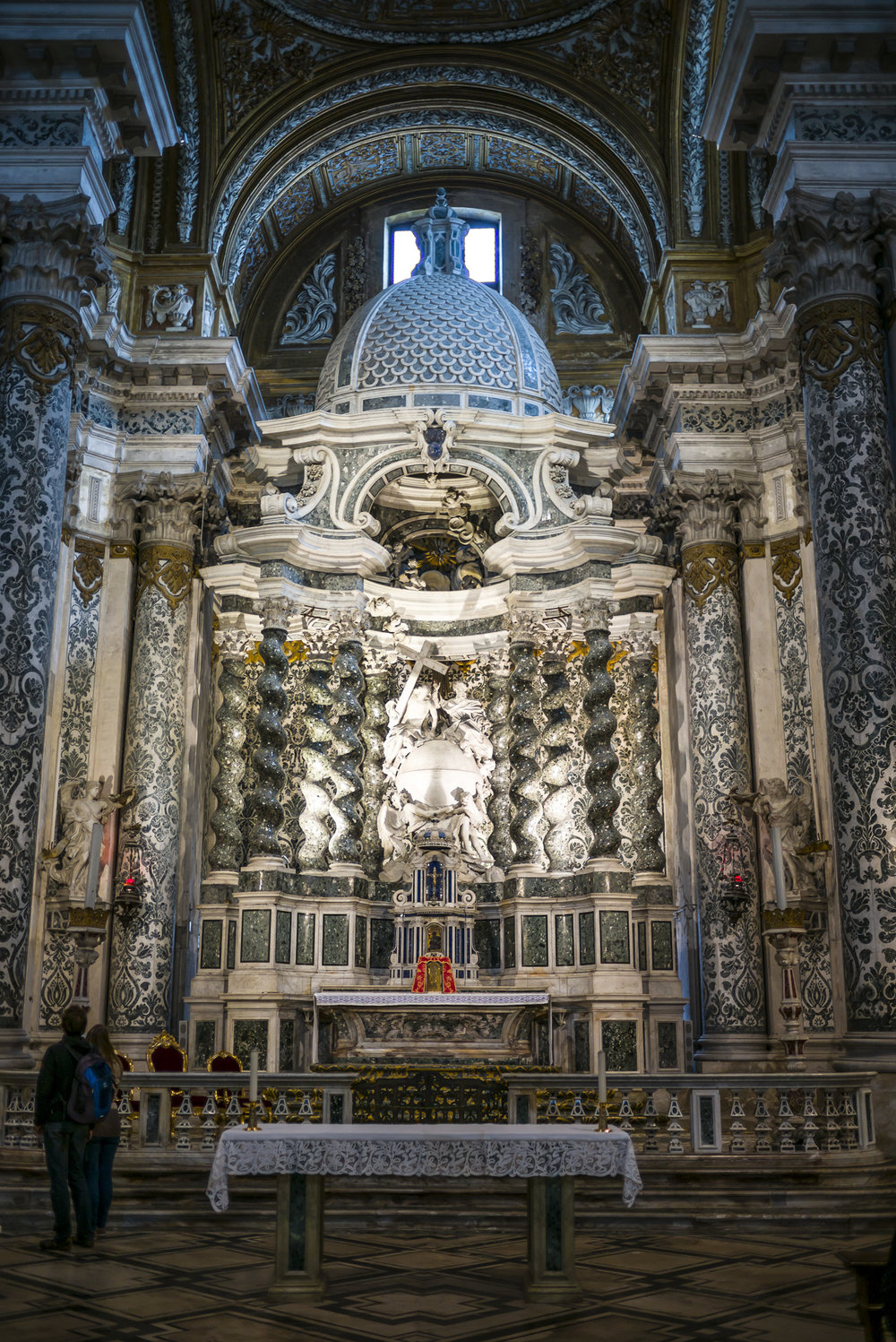 Church Altar in Venice