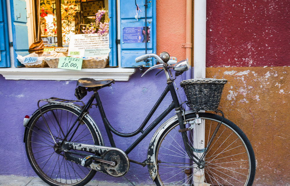 Bike in Burano