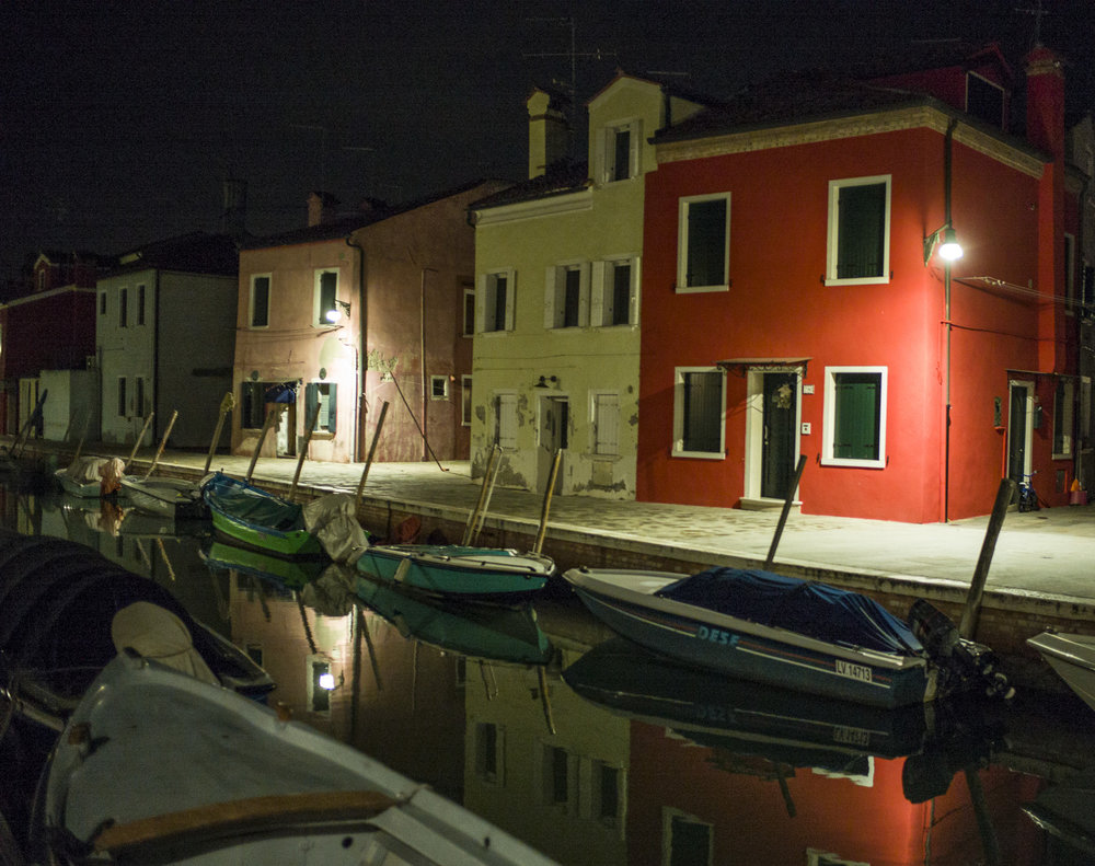 Burano at Night