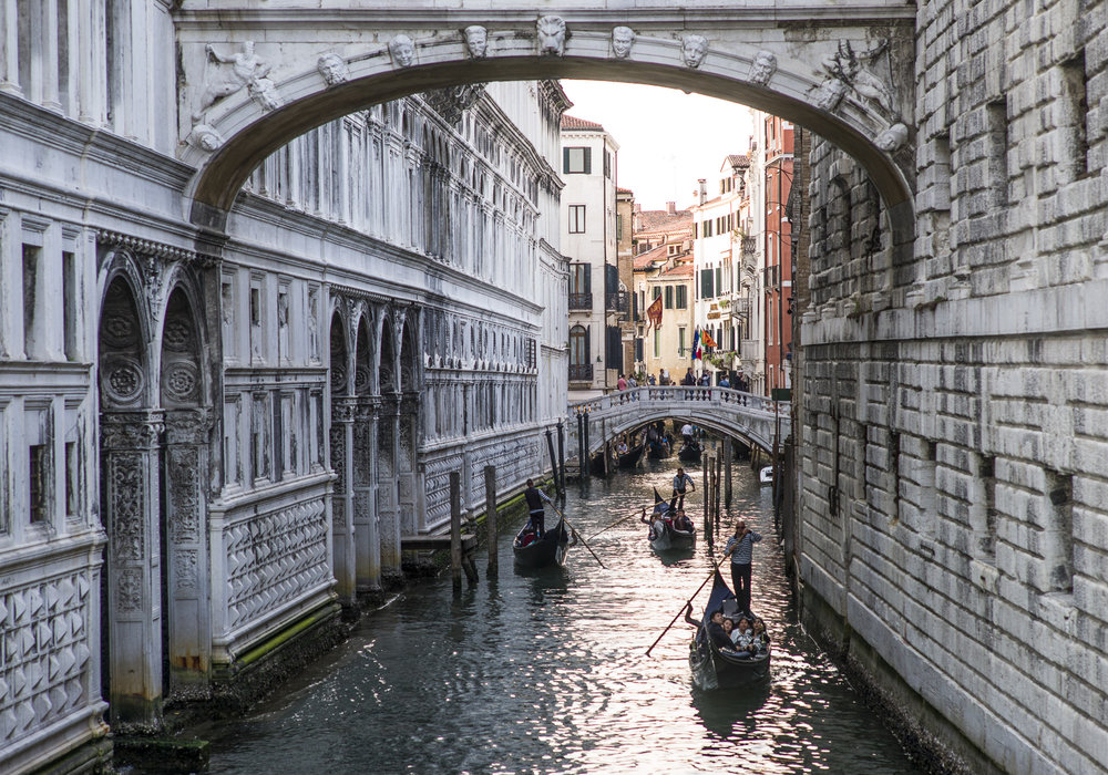 Gondolas on the Canal