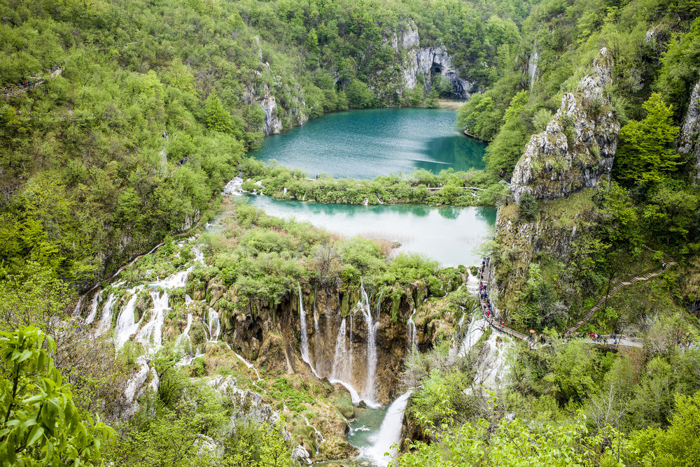 Falls at Lake