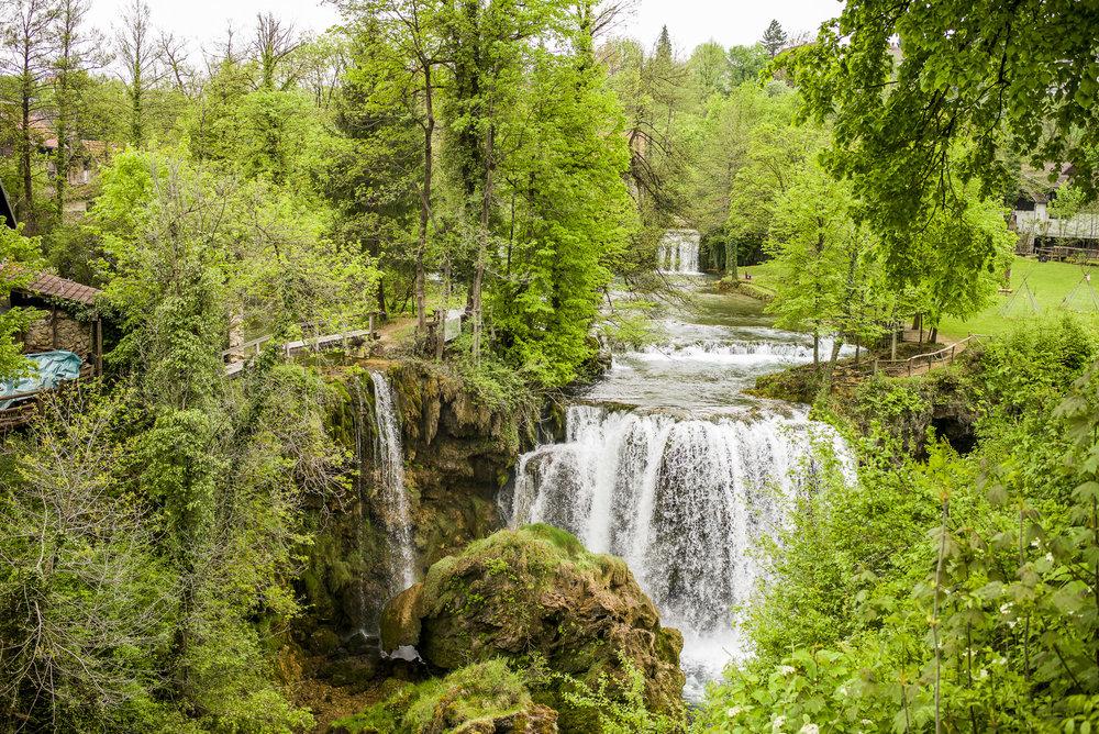 Falls at Rastoke