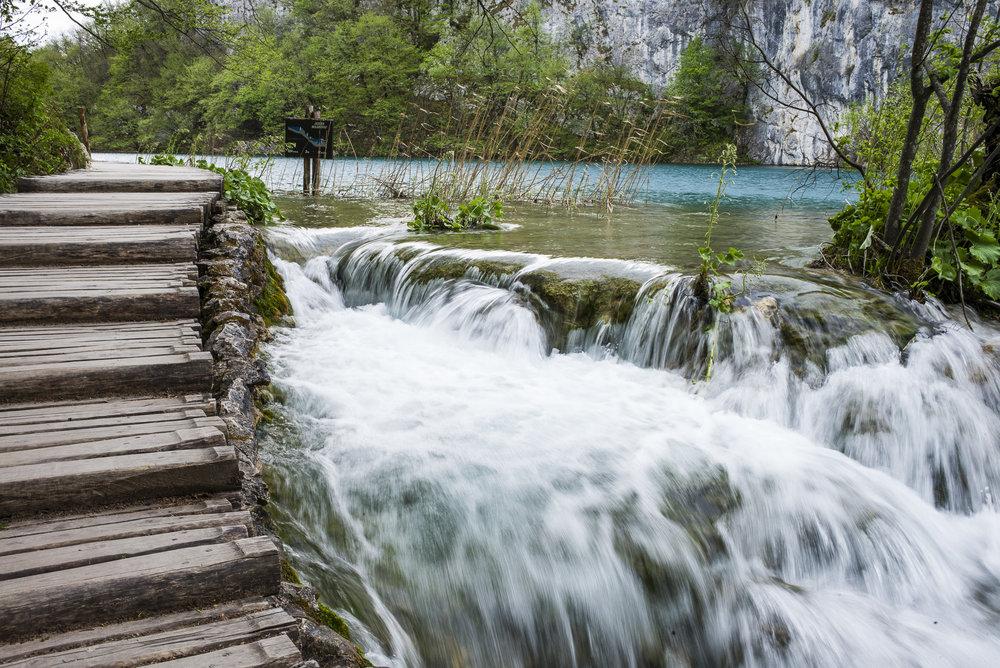 Path over Falls