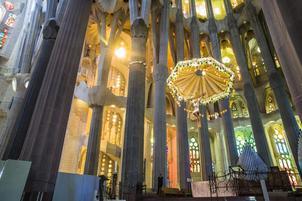 Altar of La Sagrada Familia