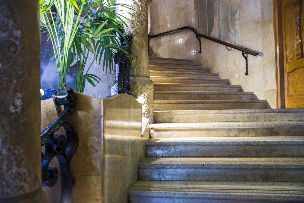 Staircase of La Padrera