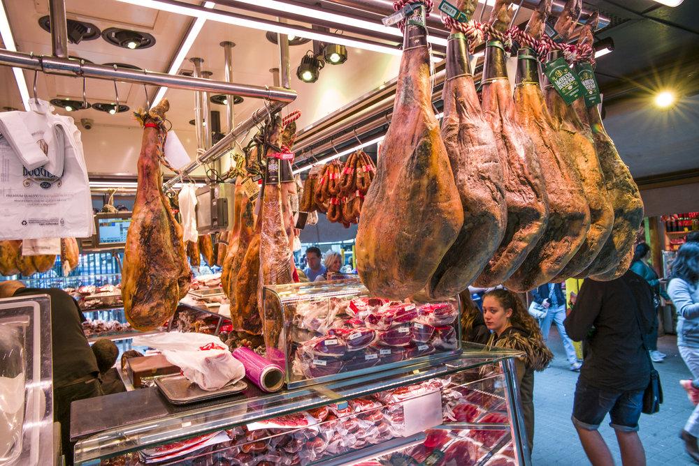 Prosciutto and Iberian Ham