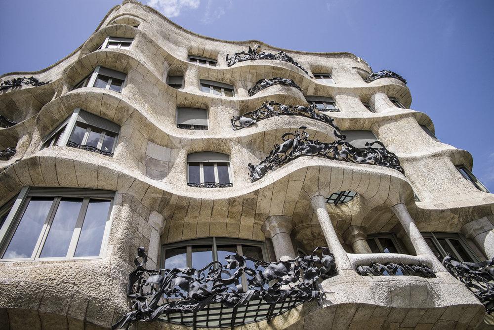 Gaudi's La Padrera