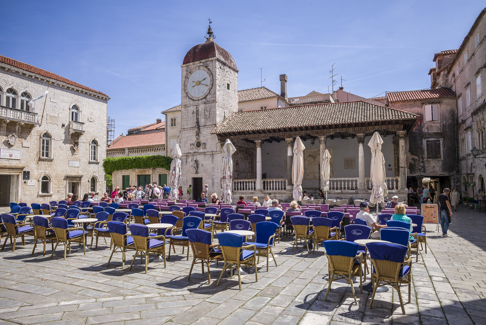 Public Square at Trogir