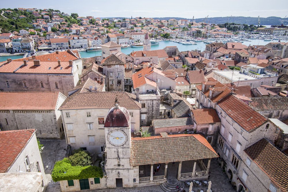 Trogir from Belltower