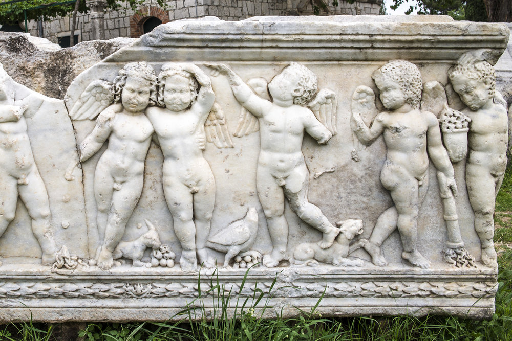 Sarcophagus in Salona