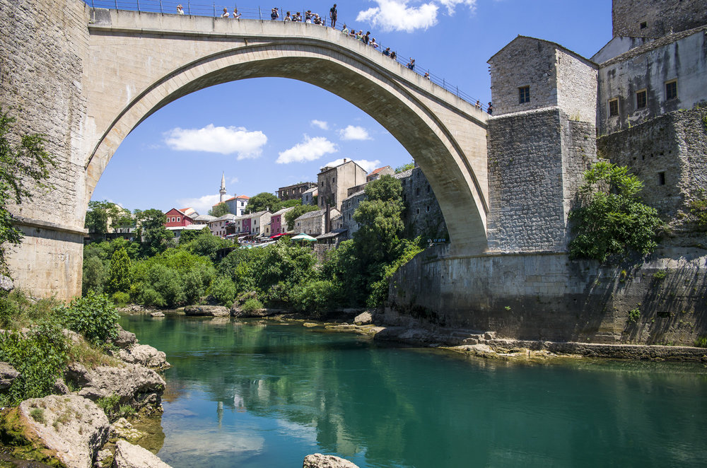 Jumping from Stari Most