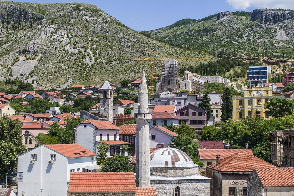 Mostar Skyline