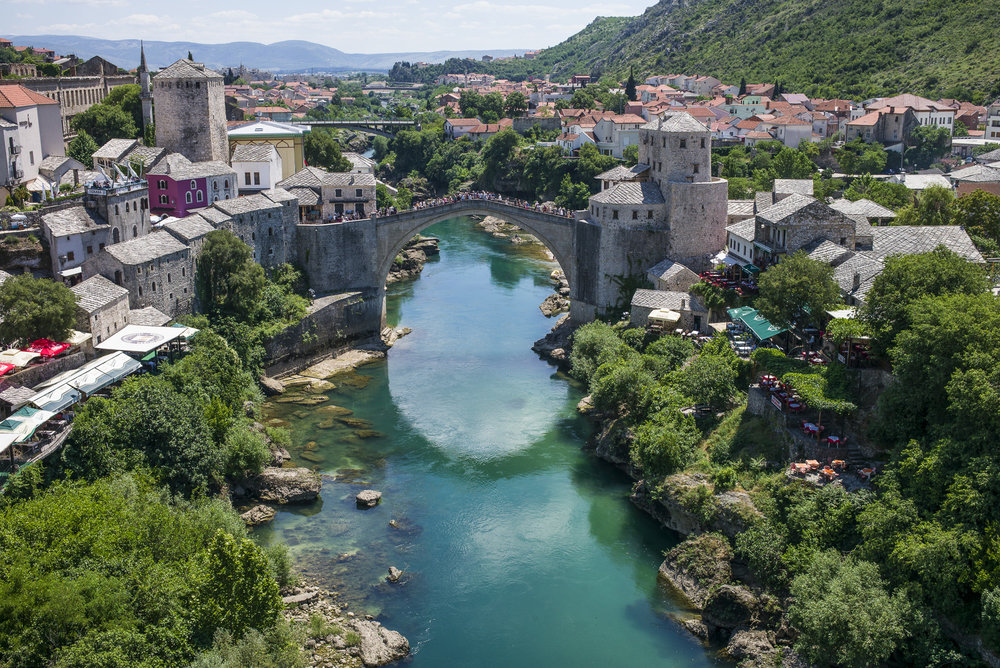 Neretva River and the Bridge