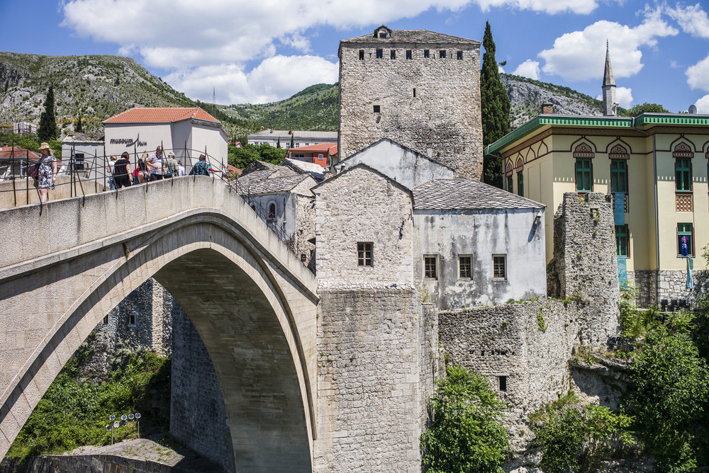 Bridge over Neretva River