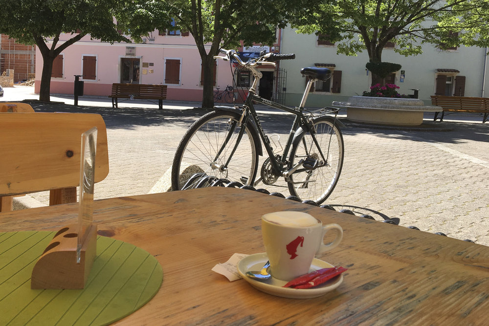 Coffee and Bike