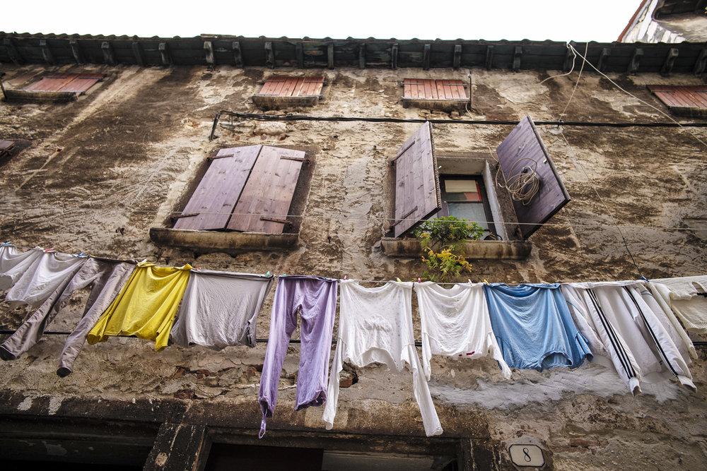 Laundry in Rovinj