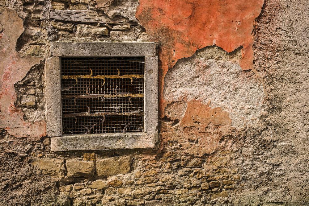 Wall in Motovun